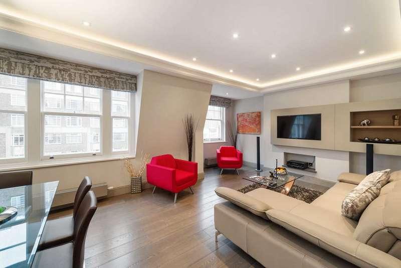 3 Bedrooms Flat for sale in Brown Street, Marylebone