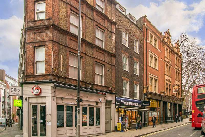 2 Bedrooms Maisonette Flat for sale in St Giles High Street, Covent Garden, WC2H