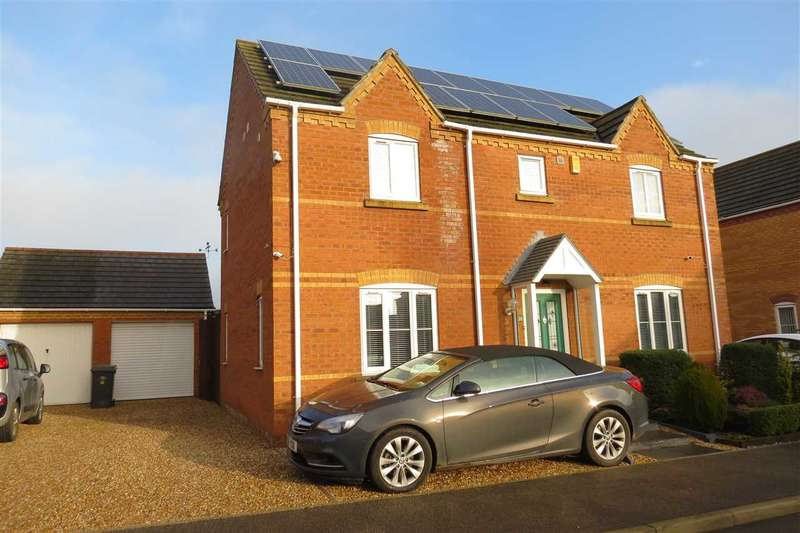 3 Bedrooms Detached House for sale in Shire Close, Billinghay