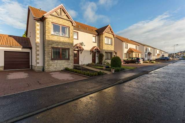 3 Bedrooms Semi Detached House for sale in Provost Mains, Abernethy, Perthshire, PH2 9GE