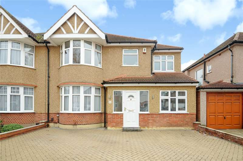 5 Bedrooms Semi Detached House for sale in Elmcroft Crescent, Harrow, Middlesex, HA2