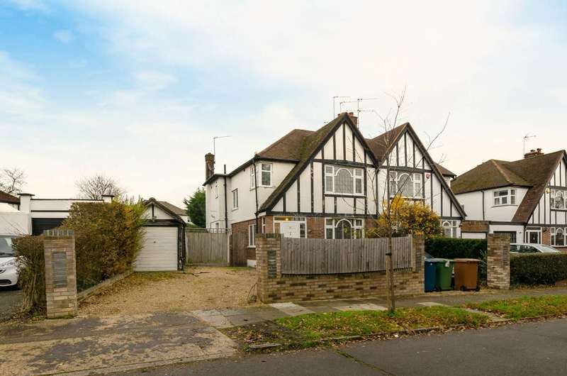 3 Bedrooms Semi Detached House for sale in Sherington Avenue, Hatch End, HA5