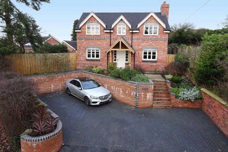 3 Bedrooms Detached House for sale in Pinewood, Stafford Road, Eccleshall, Stafford. ST21 6JP