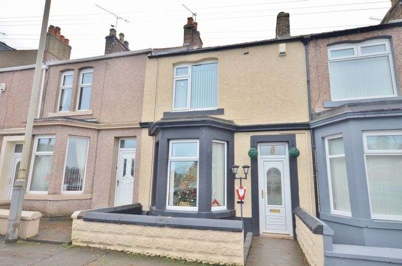 3 Bedrooms Terraced House for sale in Elizabeth Terrace, Maryport