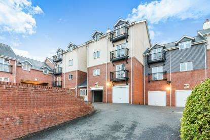 2 Bedrooms Flat for sale in Marlborough House, Mill Street, Evesham, Worcestershire