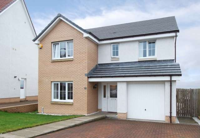 4 Bedrooms Detached House for sale in Blackley Place, Reddingmuirhead, Falkirk, FK2 0AF