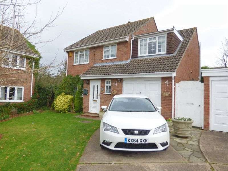 4 Bedrooms Detached House for sale in Hawk Close, Abbeydale, Gloucester