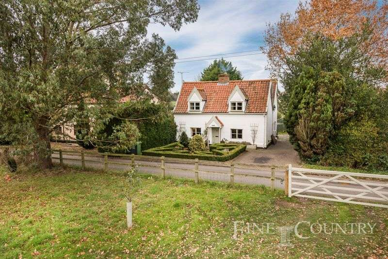 5 Bedrooms Detached House for sale in Blo Norton, Near Diss