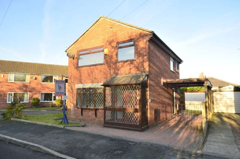 3 Bedrooms Detached House for sale in Matlock Close, Farnworth, Bolton, BL4