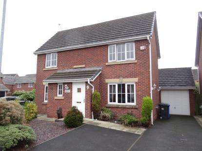 4 Bedrooms Detached House for sale in Manhattan Gardens, Great Sankey, Warrington, Cheshire