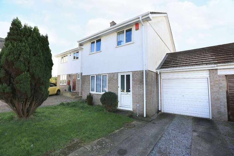 3 Bedrooms Semi Detached House for sale in Turnchapel, Plymouth