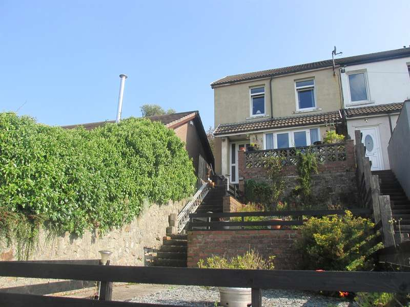 3 Bedrooms End Of Terrace House for sale in Pleasant View, Cilsanws Lane, Cefn Coed