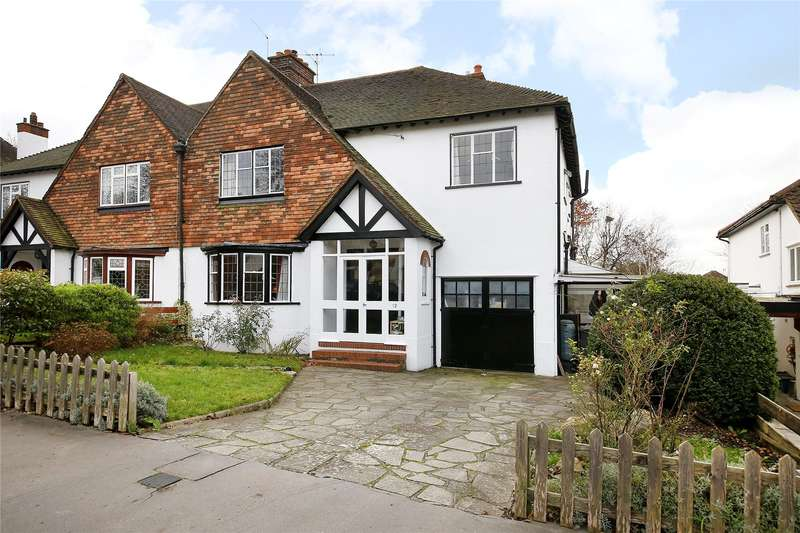 4 Bedrooms Semi Detached House for sale in Hurst Way, South Croydon, Surrey