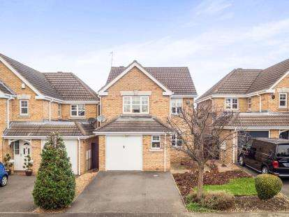3 Bedrooms Detached House for sale in Mellbreak Close, West Bridgford, Nottingham, Nottinghamshire