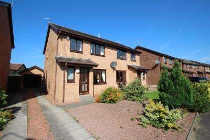 3 Bedrooms Semi Detached House for sale in Spallander Road, Troon