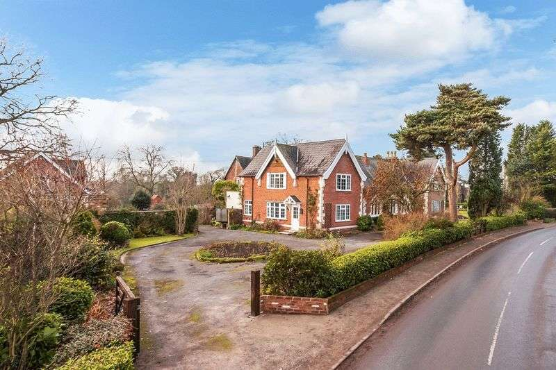 5 Bedrooms Detached House for sale in Giantswood Lane, Congleton