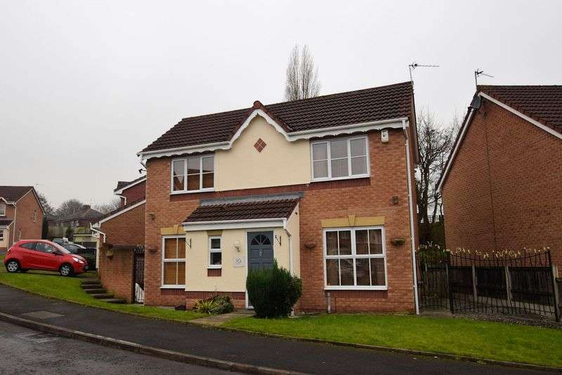 3 Bedrooms Detached House for sale in Greendale Drive, Woodland Chase, Radcliffe