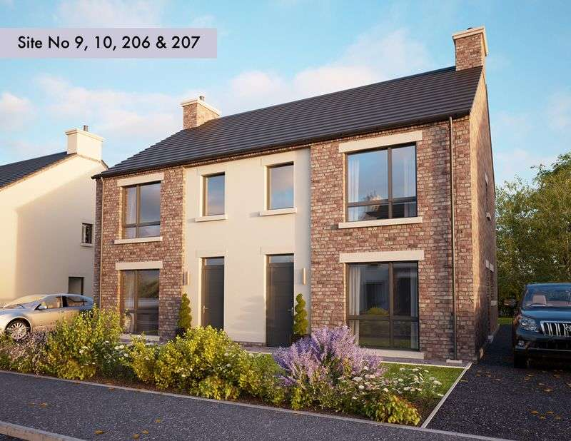 3 Bedrooms Semi Detached House for sale in New Homes at Longridge, The Hollows, Lurgan