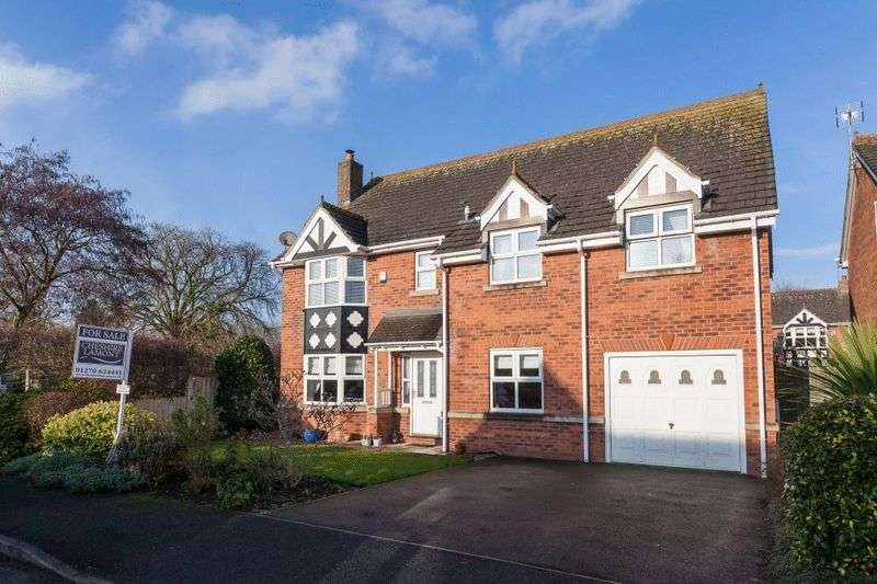 4 Bedrooms Detached House for sale in Tanners Way, Nantwich