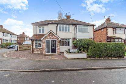 3 Bedrooms Semi Detached House for sale in Aylesbury Avenue, Chaddesden, Derby, Derbyshire