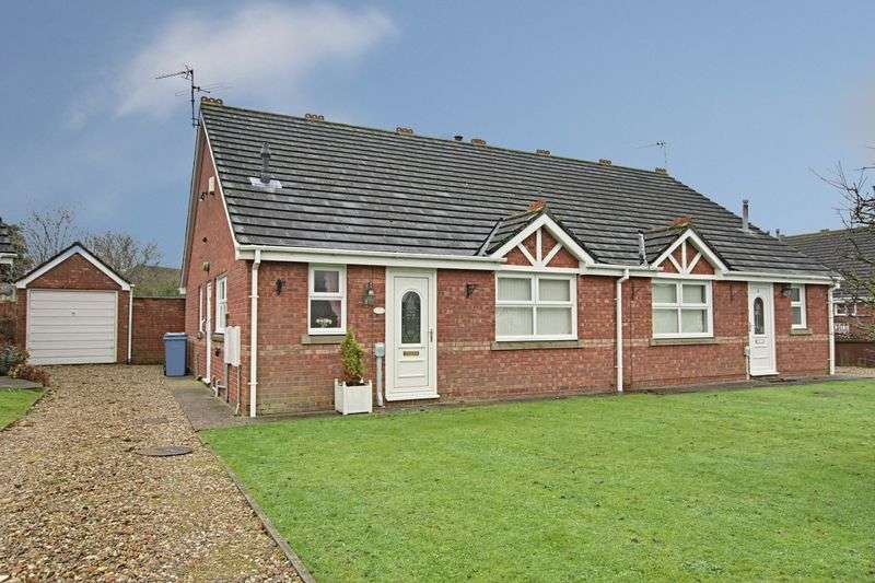 2 Bedrooms Semi Detached Bungalow for sale in Villiers Court, Hull