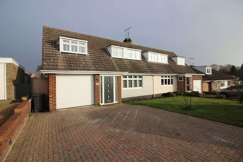3 Bedrooms Semi Detached House for sale in Barryfields, Shalford, Braintree, CM7 5HJ