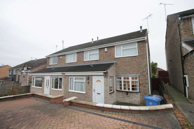 3 Bedrooms Semi Detached House for sale in SEVERNVALE CLOSE, ALLESTREE