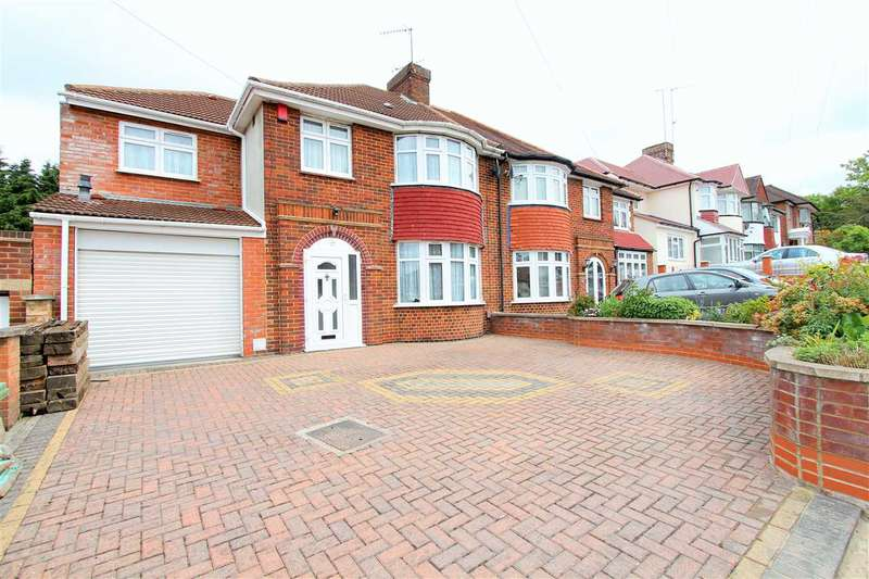 5 Bedrooms Semi Detached House for sale in Wykeham Hill, Wembley