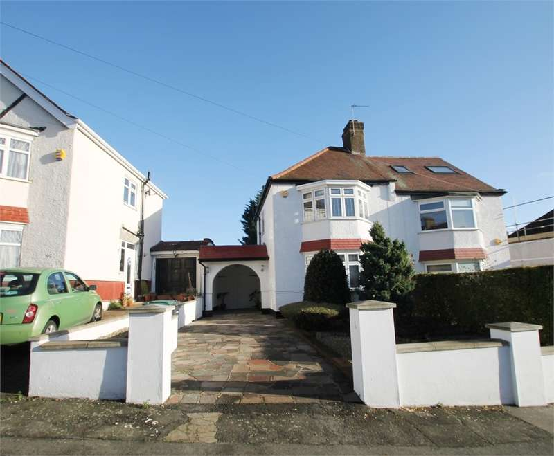 3 Bedrooms Semi Detached House for sale in Norfolk Ave, N13