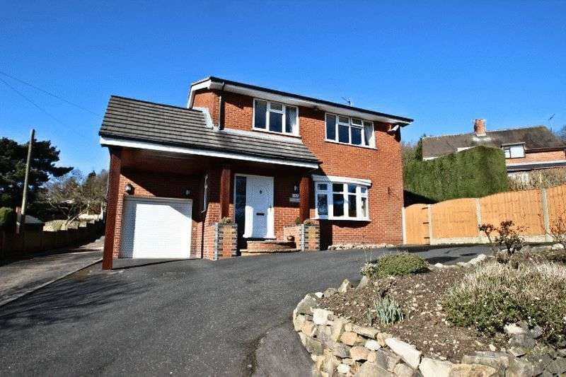 4 Bedrooms Detached House for sale in Mow Cop Road, Stoke-On-Trent