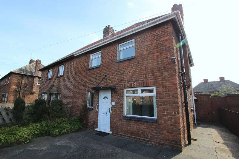 3 Bedrooms Semi Detached House for sale in Lucerne Road, Redcar