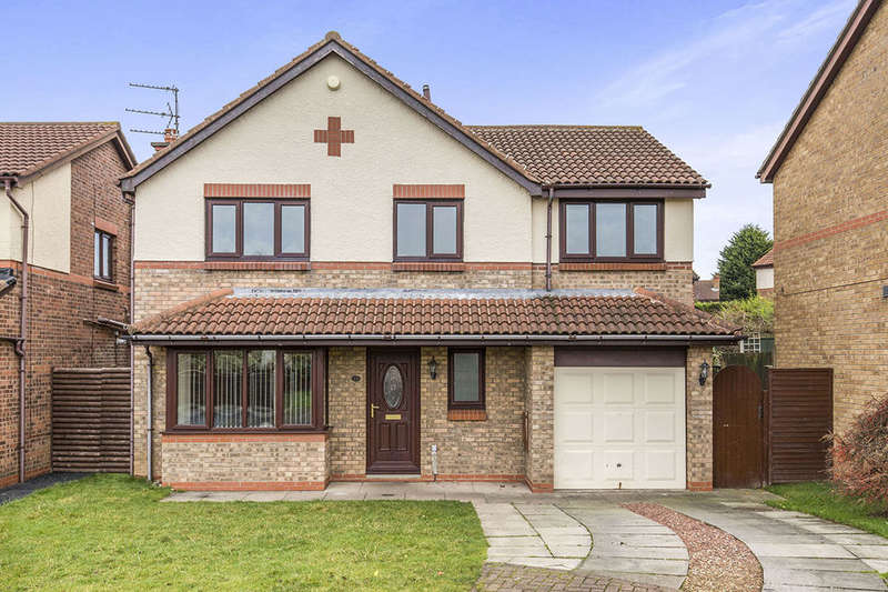 4 Bedrooms Detached House for sale in Endeavour Drive, Ormesby, Middlesbrough, TS7