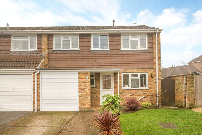 4 Bedrooms Semi Detached House for sale in Repton Close, Maidenhead, Berkshire, SL6