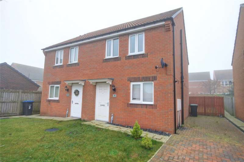 2 Bedrooms Semi Detached House for sale in Viscount Close, Stanley, Durham, DH9
