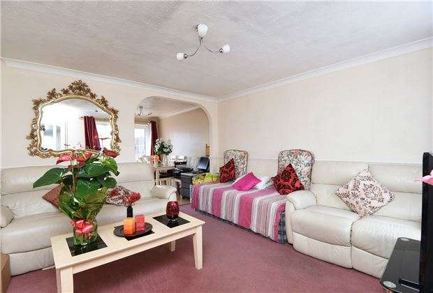3 Bedrooms Terraced House for sale in Varley Way, Mitcham, Surrey, CR4