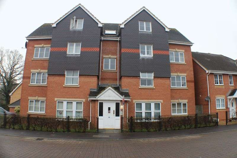 2 Bedrooms Flat for sale in Fawn Crescent, Hedge End