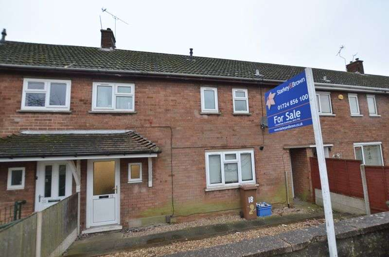 3 Bedrooms Terraced House for sale in Caenby Road, Scunthorpe