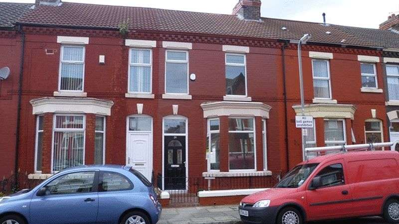 3 Bedrooms Terraced House for sale in Kempton Road, Wavertree, Liverpool, L15