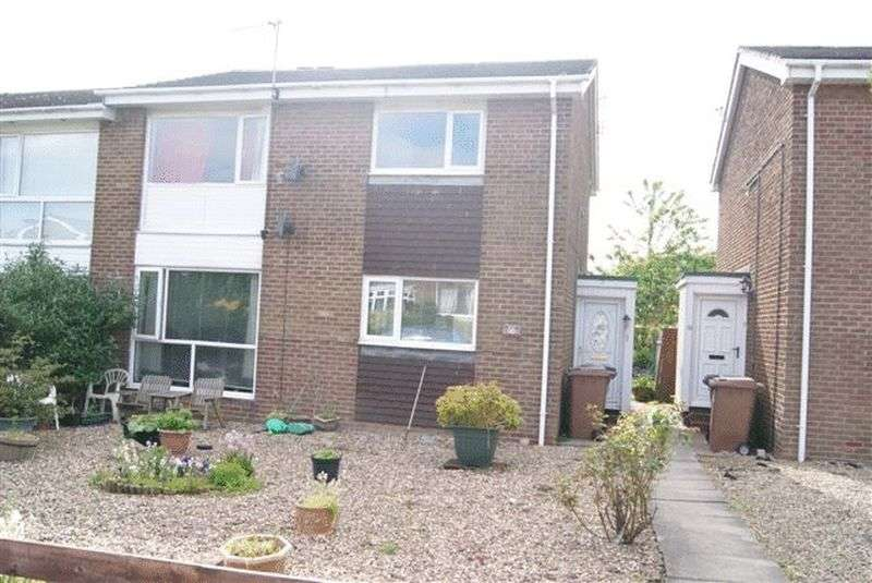 2 Bedrooms Flat for sale in Stamford, Highfields, Killingworth, Newcastle Upon Tyne