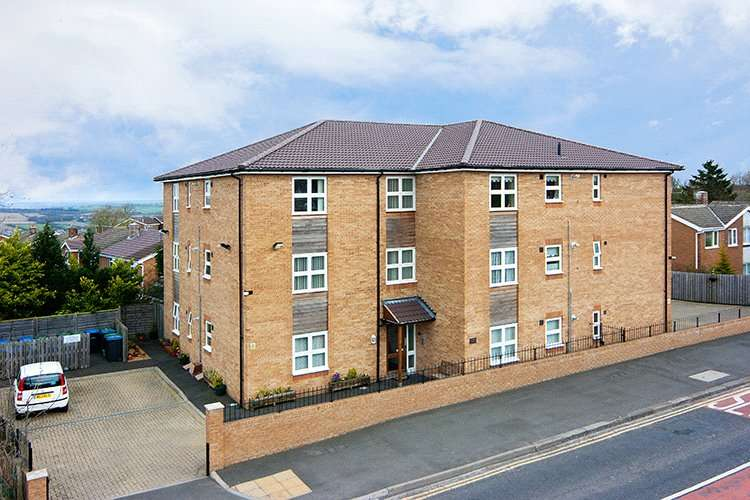 2 Bedrooms Retirement Property for sale in Robson House, The Leazes, Newcastle upon Tyne, NE16