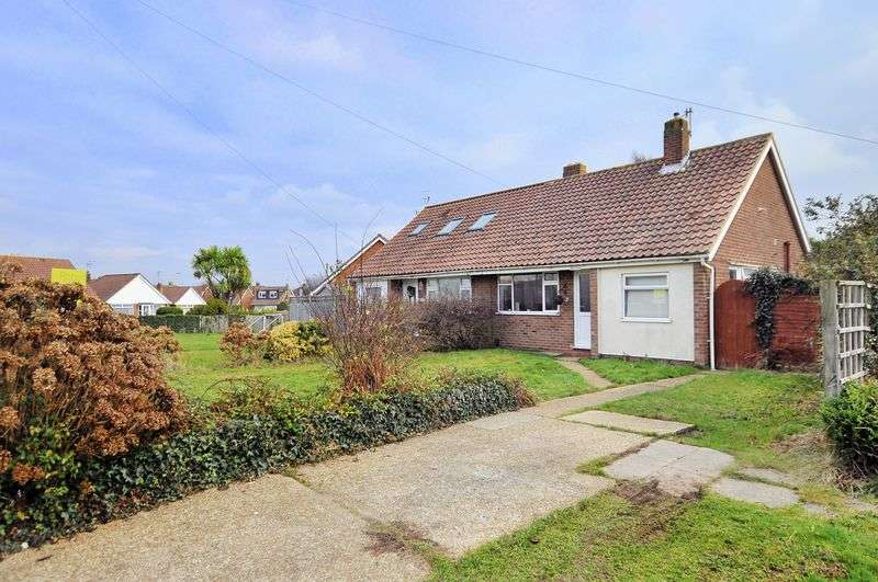 2 Bedrooms Bungalow for sale in Derwent Close, Lancing