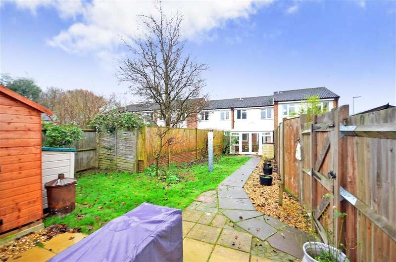 3 Bedrooms Terraced House for sale in Timber Mill, Southwater, Horsham, West Sussex