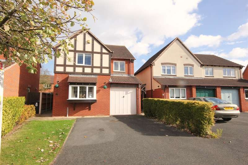 4 Bedrooms Detached House for sale in Lundy Row, St Peters, Worcester