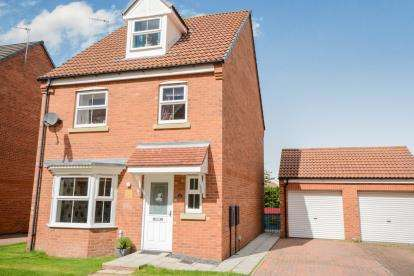 4 Bedrooms Detached House for sale in Mercury Close, North Hykeham, Lincoln, Lincolnshire