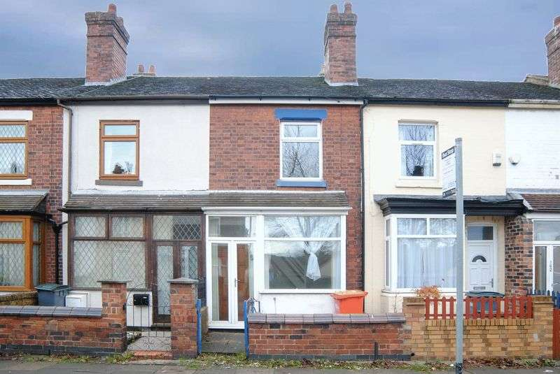 2 Bedrooms Terraced House for sale in Whieldon Road, Mount Pleasant, Stoke-On-Trent, ST4 4JU
