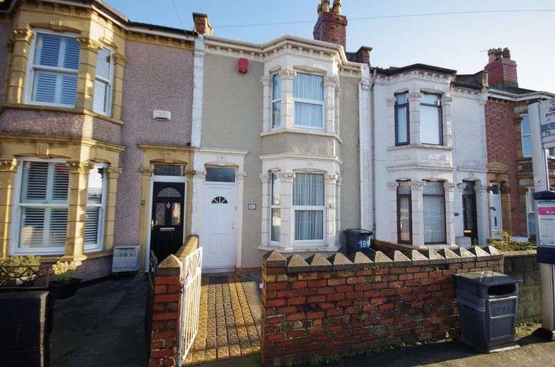 2 Bedrooms Terraced House for sale in Bishopsworth Road, Bedminster Down, Bristol