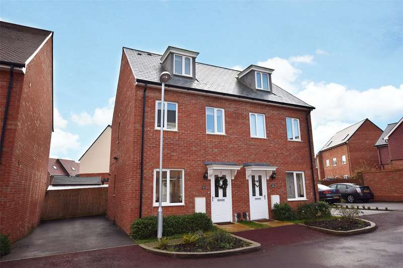 3 Bedrooms Semi Detached House for sale in Cuckoo Lane, Bracknell, Berkshire, RG12