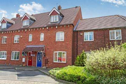 4 Bedrooms Town House for sale in Applebees Meadow, Hinckley, Leicestershire