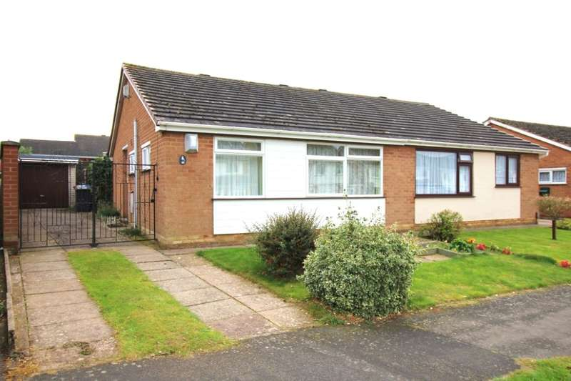 2 Bedrooms Semi Detached Bungalow for sale in Falconers Green, Burbage, Hinckley, LE10