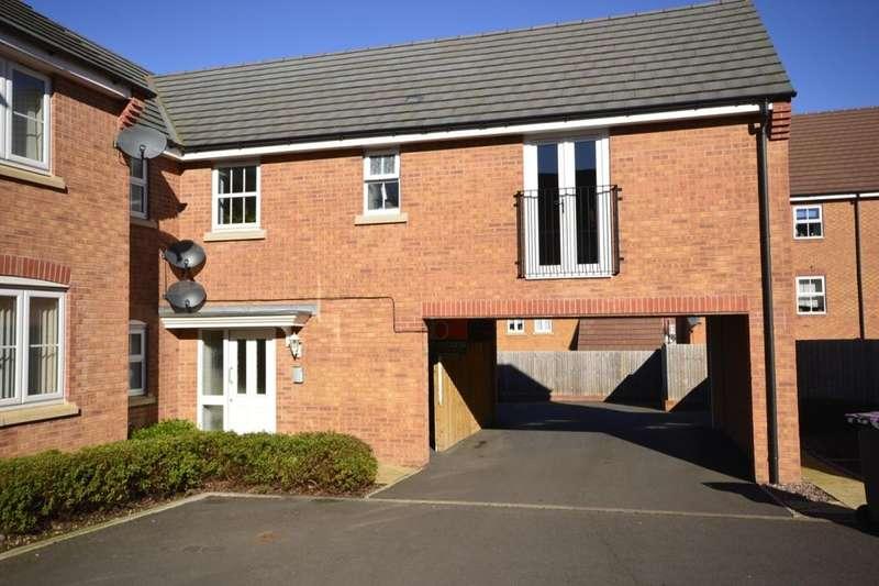 2 Bedrooms Flat for sale in Elmwood Road, Arleston, Telford, TF1